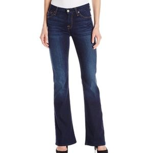 7 For All Mankind Midrise Kimmie Bootcut Jean 27